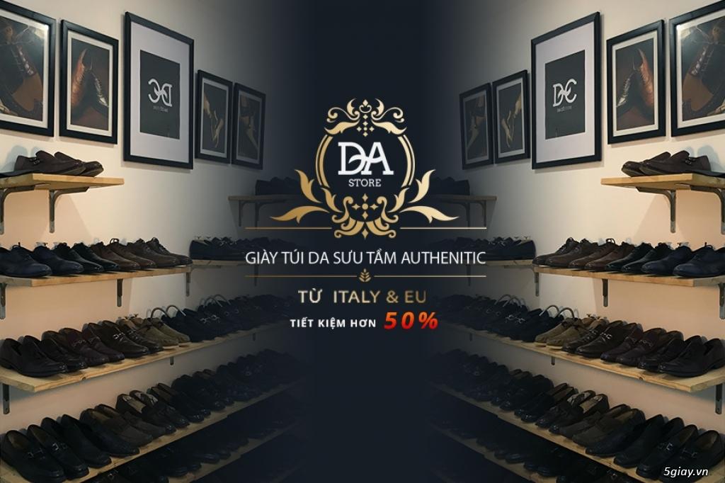 Chuyên giày da nam 2hand chính hãng từ Italy - EU