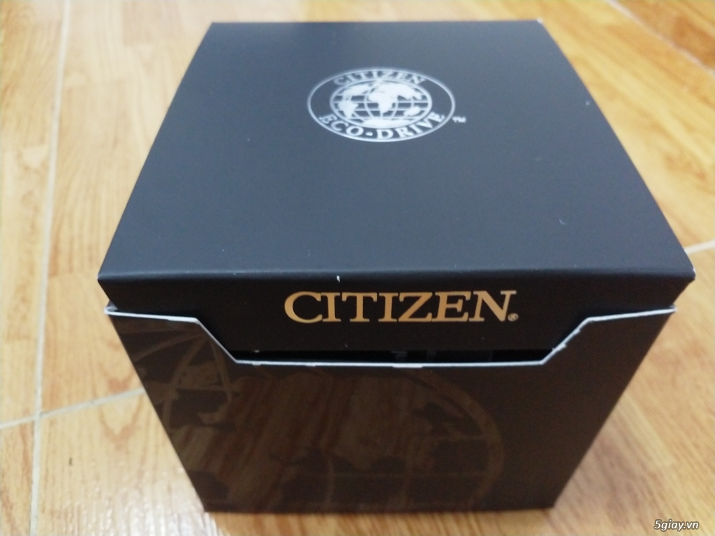 Đồng hồ Citizen Eco Drive Titanium AT4010-50E mới 100% nguyên seal - 3