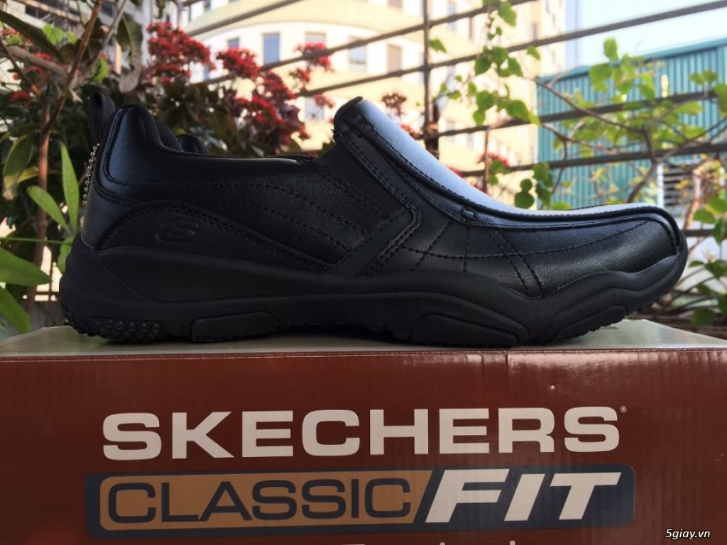 Giày Da Nam Skechers New 100%