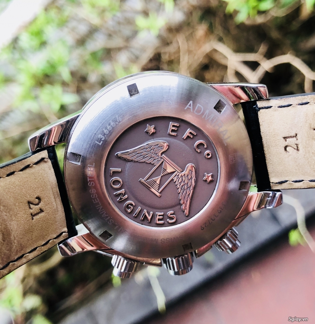 Longines Admiral L3.666.4 chronograph chính hãng thuỵ sĩ - 5