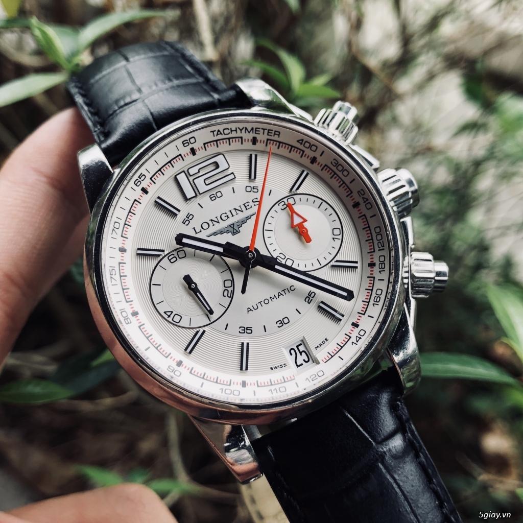 Longines Admiral L3.666.4 chronograph chính hãng thuỵ sĩ - 2