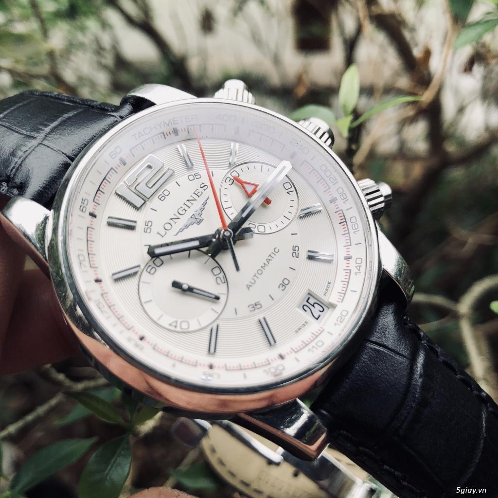 Longines Admiral L3.666.4 chronograph chính hãng thuỵ sĩ - 4