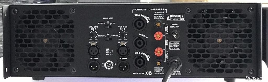 Thiên Phước Lộc Audio : Chuyển sản xuất ampli , loa công suất lớn - 17
