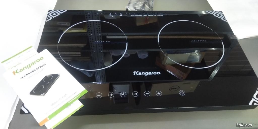 Bếp điện từ đôi kangaroo KG-498N mới 100%, bảo hành 12 tháng. End 22h59phút ngày 13/01/2019 - 1