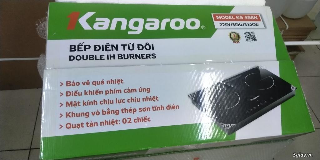 Bếp điện từ đôi kangaroo KG-498N mới 100%, bảo hành 12 tháng. End 22h59phút ngày 13/01/2019 - 6