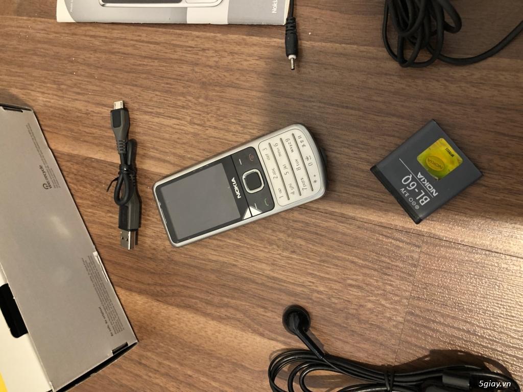 Nokia 6700 classic O2 bạc sần  fullbox new Ship UK - 18