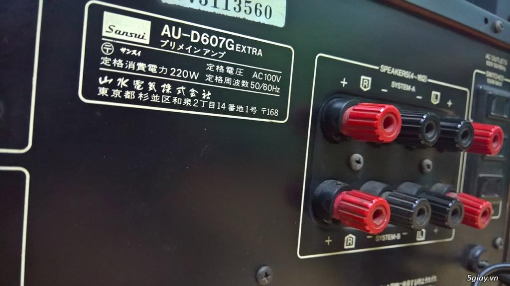 Đôi SANSUI AU-D607 EXTRA - 5