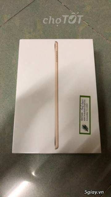 ipad mini 4 wifi 128GB Hàng mới nguyên seal Xách tay từ Mỹ