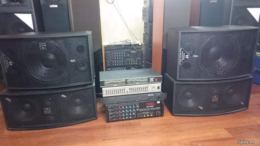 Bộ âm ly 203n - 8 sò và đôi loa Bose 301sr3 cho GĐ vui đón tết