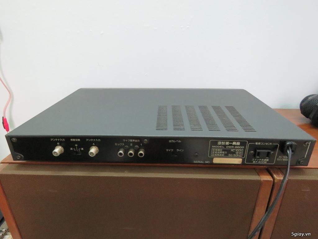 Bộ micro không dây nội địa nhật Made in Japan, - 5