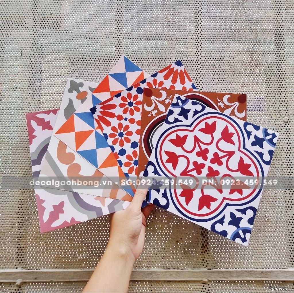 Decal gạch bông - giải pháp trang trí cho người bận rộn