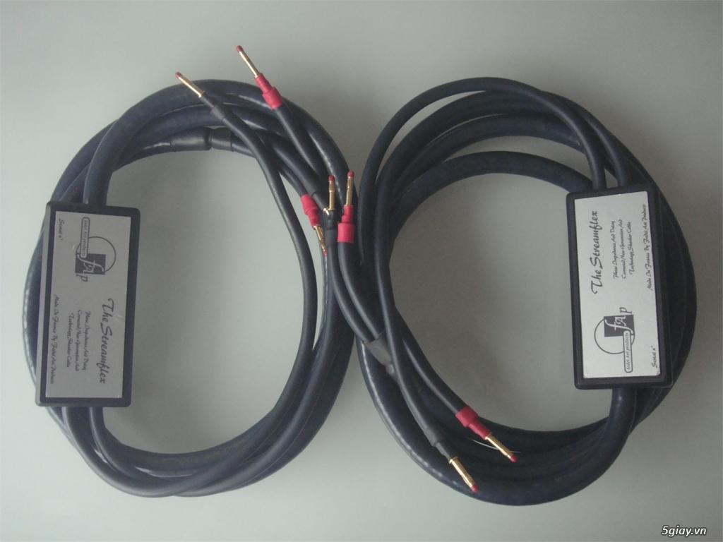 -Bộ dây loa High End Fadel Art The Stream Flex Plus SINGLE-WIRE /WBT-0 - 3
