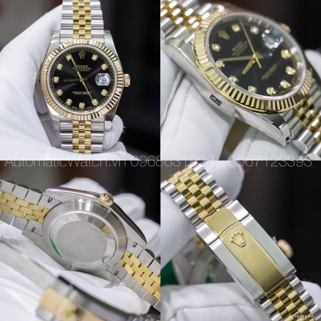 Chuyên đồng hồ Rolex, Omega, Hublot, Patek, JL, Bregue ,Cartier..REPLICA 1:1 AutomaticWatch.vn - 8