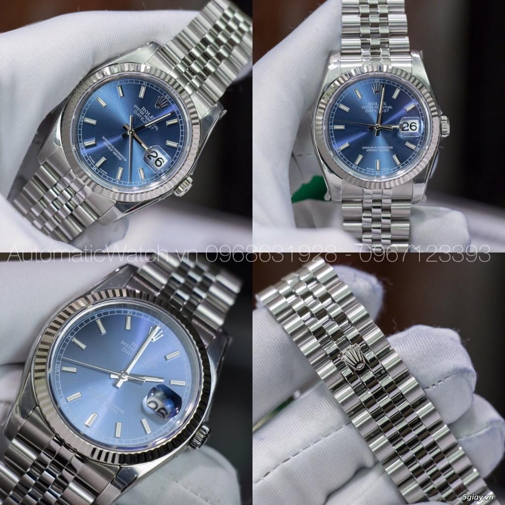 Chuyên đồng hồ Rolex, Omega, Hublot, Patek, JL, Bregue ,Cartier..REPLICA 1:1 AutomaticWatch.vn - 12