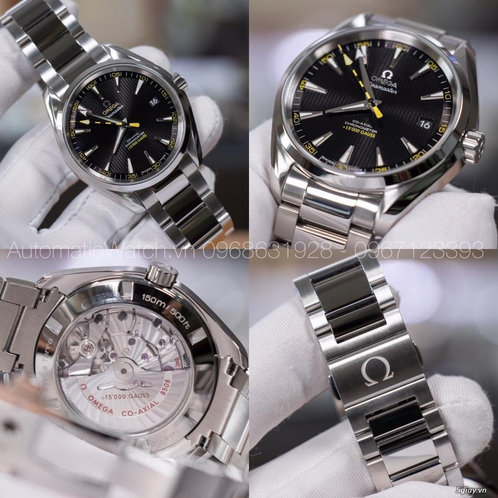 Chuyên đồng hồ Rolex, Omega, Hublot, Patek, JL, Bregue ,Cartier..REPLICA 1:1 AutomaticWatch.vn - 36