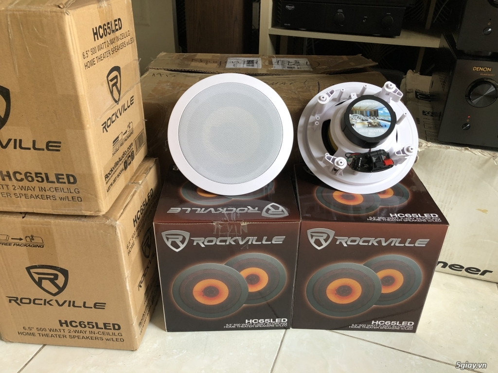 Ampli, CD, receiver, loa, subwoofer, center, surround các loại... - 28