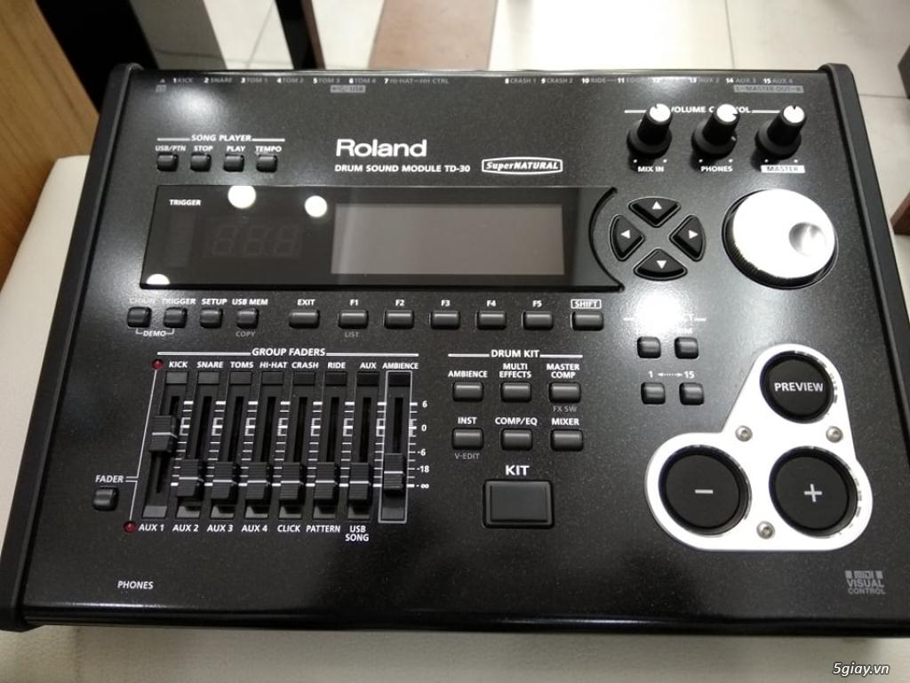 Trống Roland Used, likenew và brandnew về cực nhiều - 10