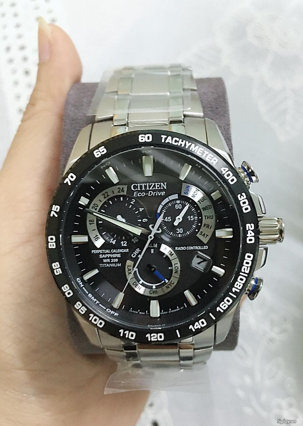 Đồng hồ  AT4010-50E mới 100 nguyên seal