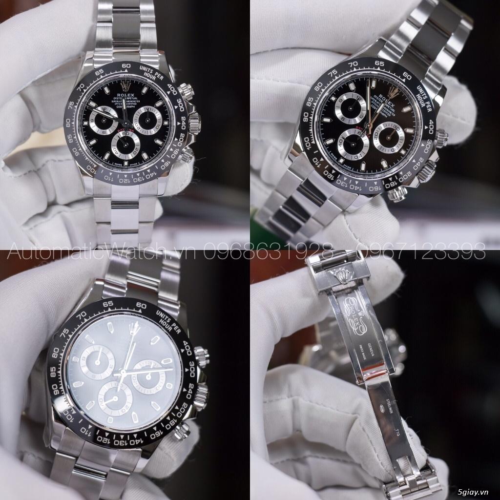 Chuyên đồng hồ Rolex, Omega, Hublot, Patek, JL, Bregue ,Cartier..REPLICA 1:1 AutomaticWatch.vn - 2