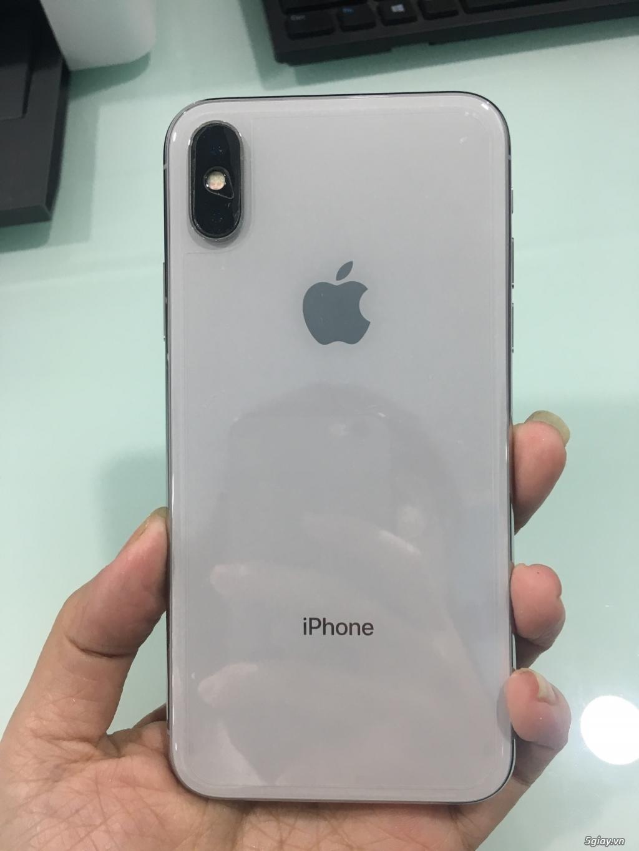 Bán Iphone X màu trắng Silver, 64Gb hàng chính hãng VN - 4