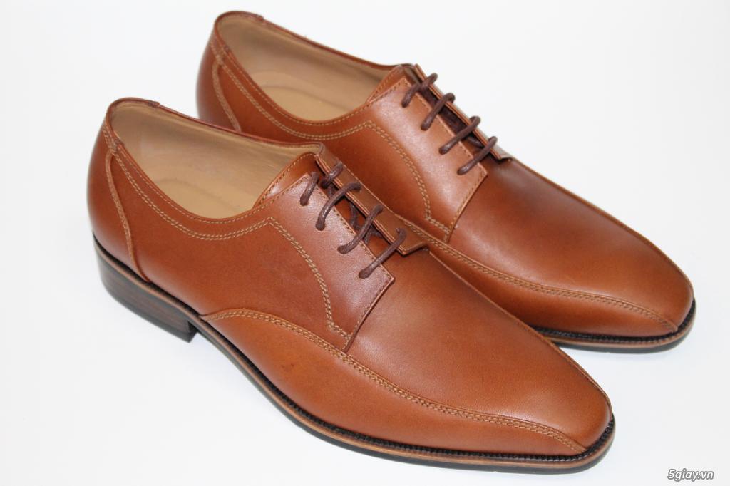 Giày da nam cao cấp thiết kế sang trọng - 2