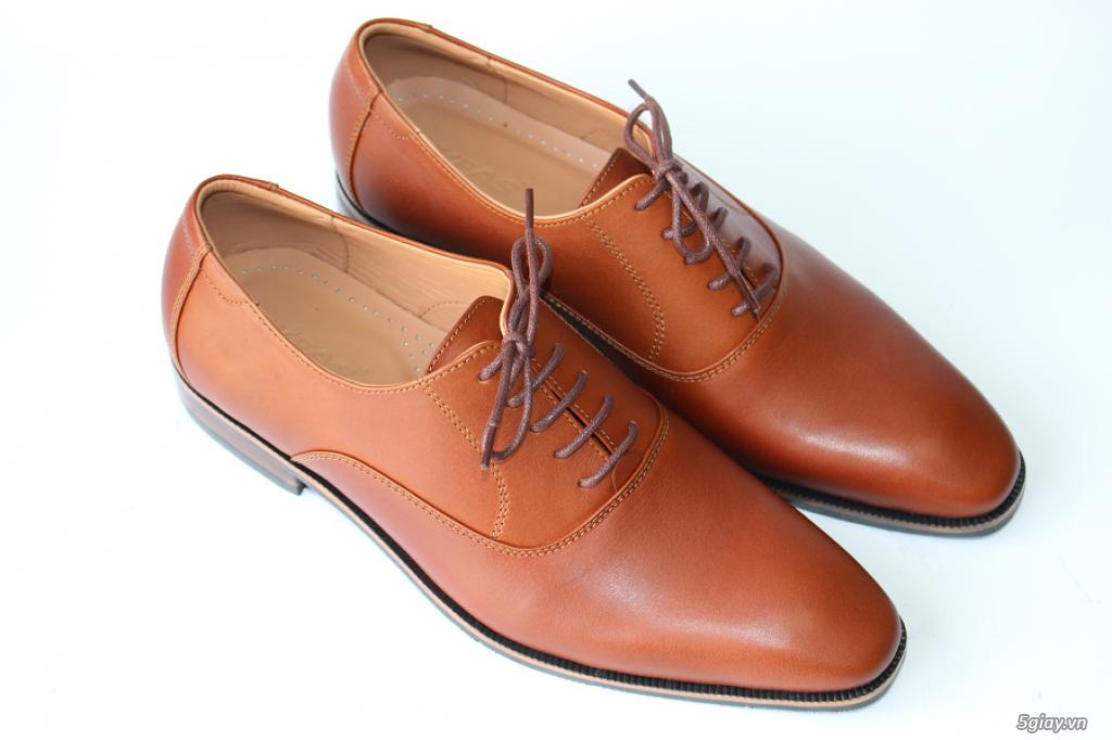 Giày da nam cao cấp thiết kế sang trọng - 5