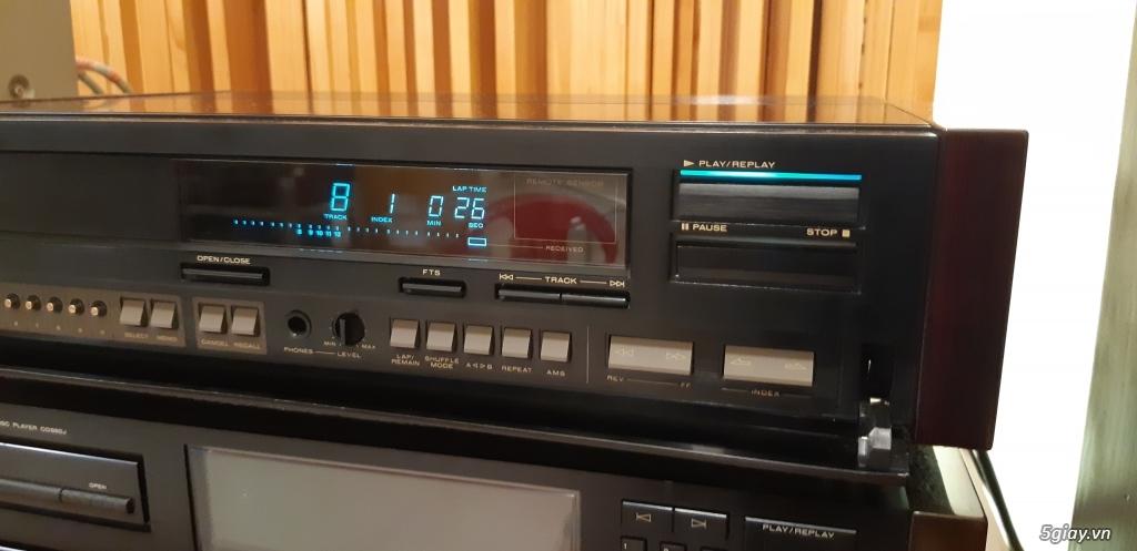 MD Sony JA50ES, Loa Wharfedale W70, Loa Infinity RS-255. - 2