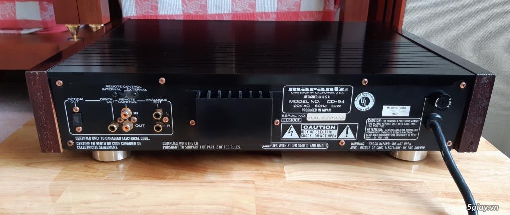 MD Sony JA50ES, Loa Wharfedale W70, Loa Infinity RS-255. - 22