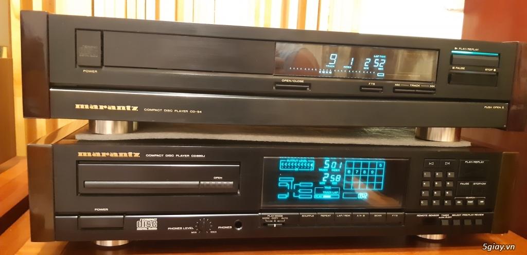 MD Sony JA50ES, Loa Wharfedale W70, Loa Infinity RS-255.