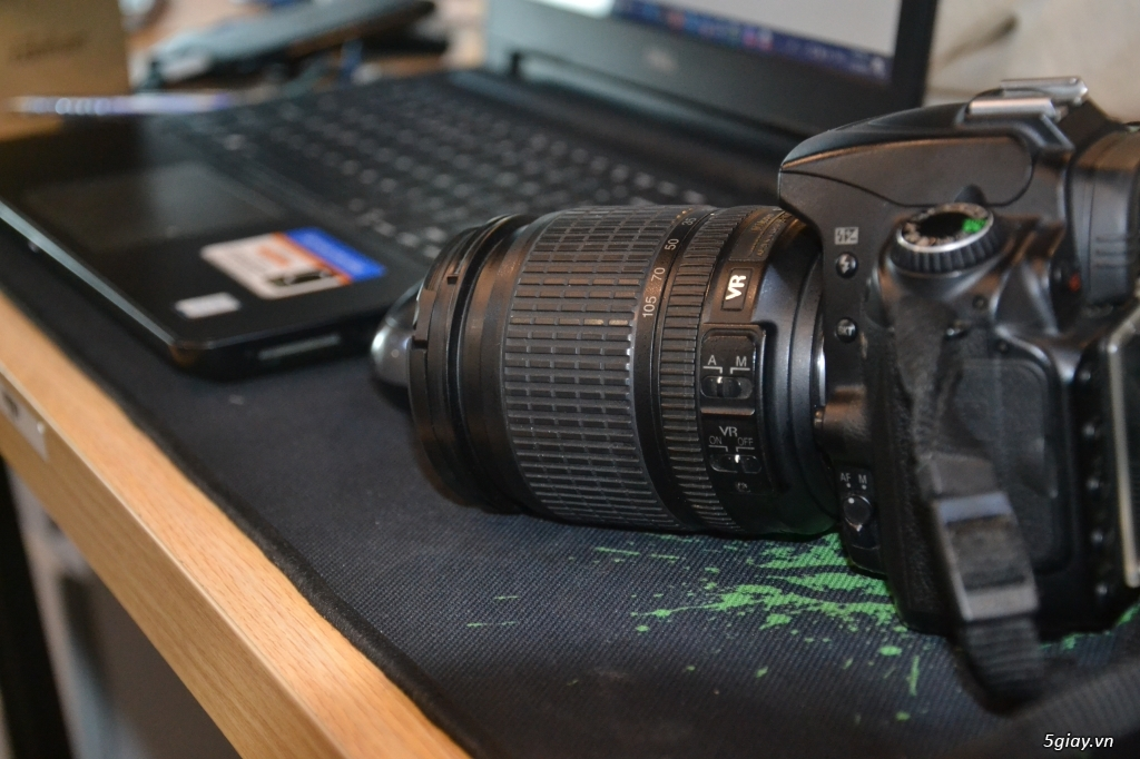Máy Ảnh Nikon D90 Cũ + Len Kit Dx 18-105 - 4