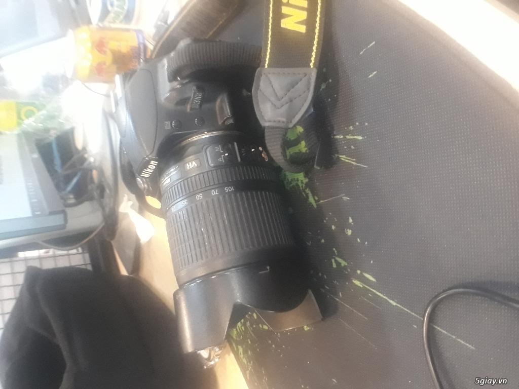 Máy Ảnh Nikon D3100 Cũ + Len Kit Dx 18-105 - 2