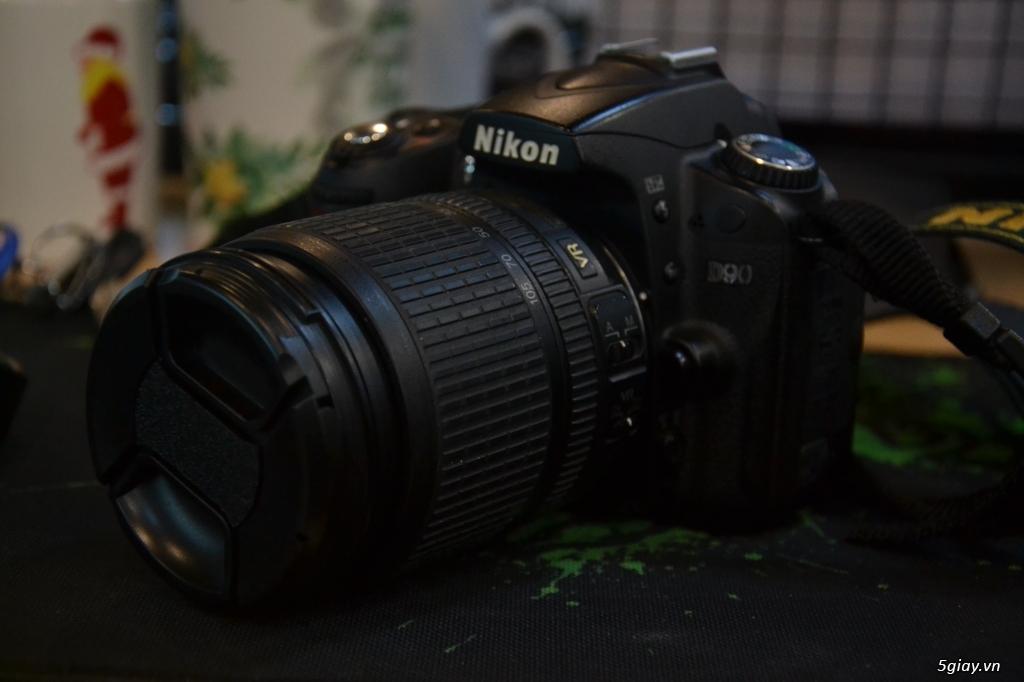 Máy Ảnh Nikon D90 Cũ + Len Kit Dx 18-105 - 3