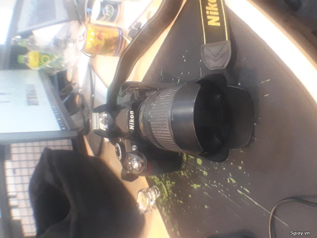 Máy Ảnh Nikon D3100 Cũ + Len Kit Dx 18-105 - 1