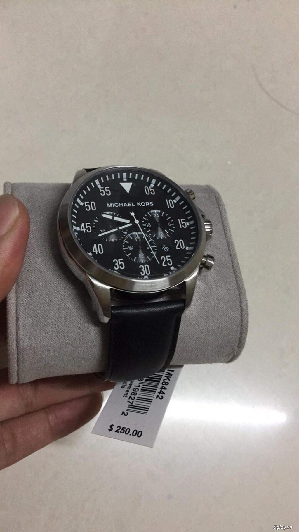 Đồng hồ thông minh thương hiệu tếng Michael Kors hàng Mỹ nguyên seal - 6
