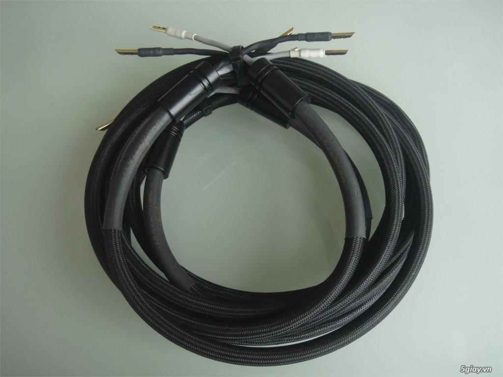 -Bộ dây loa High End Fadel Art The Stream Flex Plus SINGLE-WIRE /WBT-0 - 9