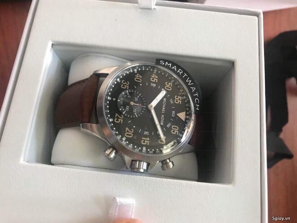 Đồng hồ thông minh thương hiệu tếng Michael Kors hàng Mỹ nguyên seal - 5