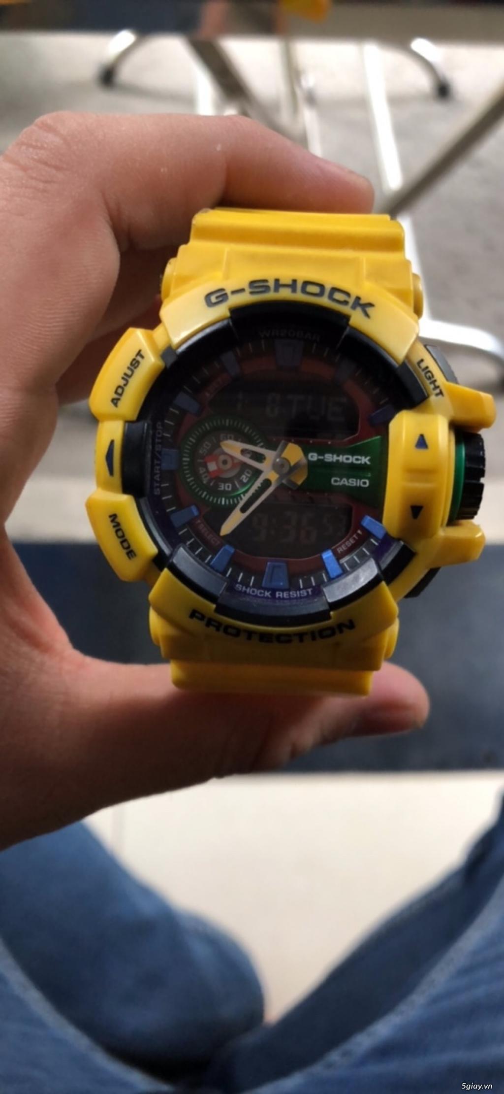 Thanh lý đồng hồ Casio G Shock giá rẻ - 1