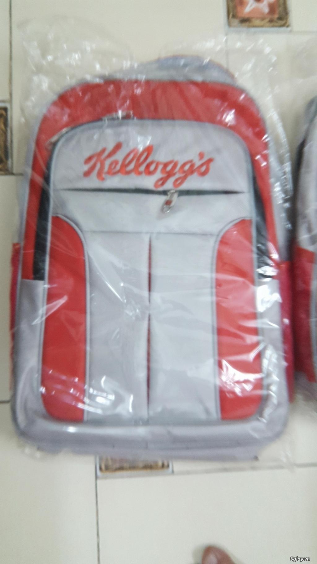 Balo khuyến mãi Kellog, giá 150.000/cái, Quận 1, HCM