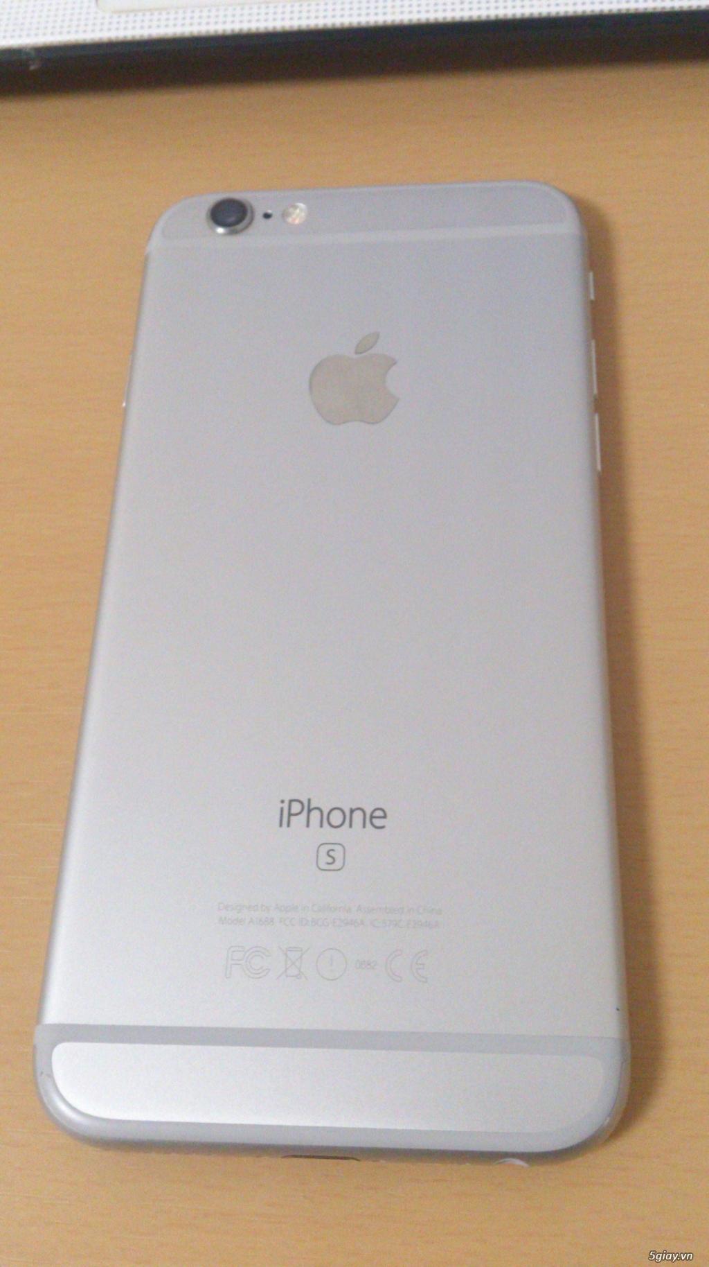 Cần bán IPHONE 6s Silver 128GB fullbox quốc tế. - 4