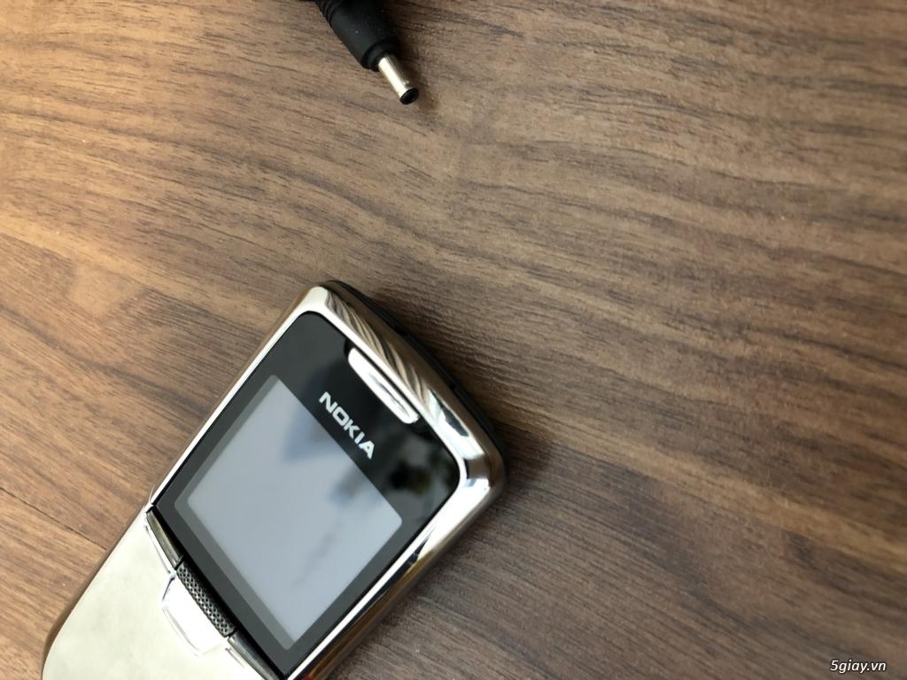 Nokia 8800 Silver Anakin zin cứng nguyên Ốc đẹp xuất sắc - 1