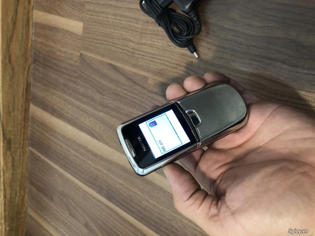 Nokia 8800 Silver Anakin zin cứng nguyên Ốc đẹp xuất sắc - 17