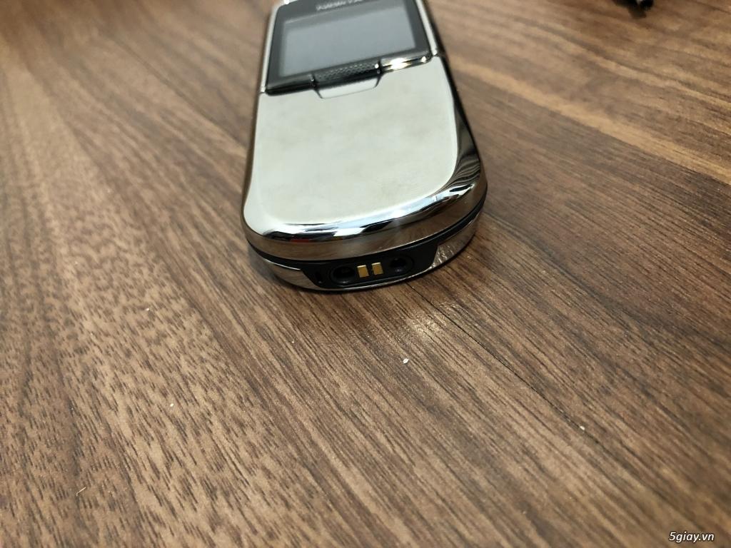 Nokia 8800 Silver Anakin zin cứng nguyên Ốc đẹp xuất sắc - 3