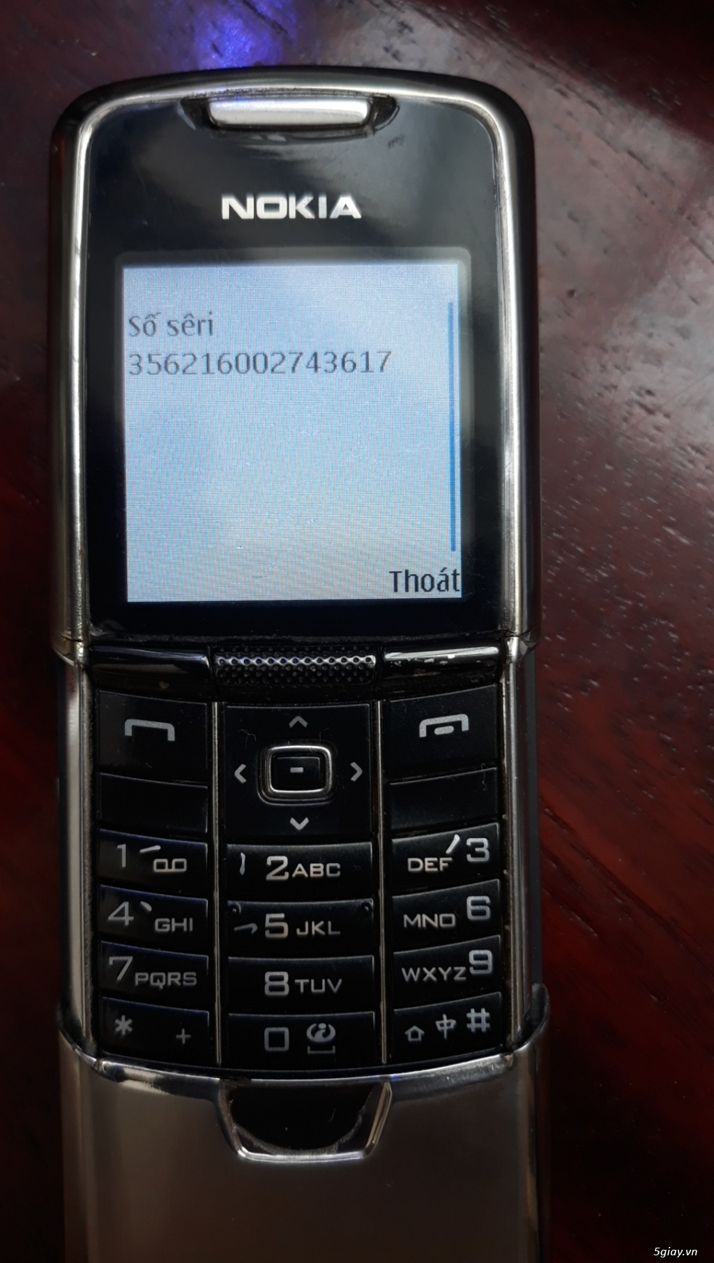 Nokia 8800 Vang danh một thời. - 2