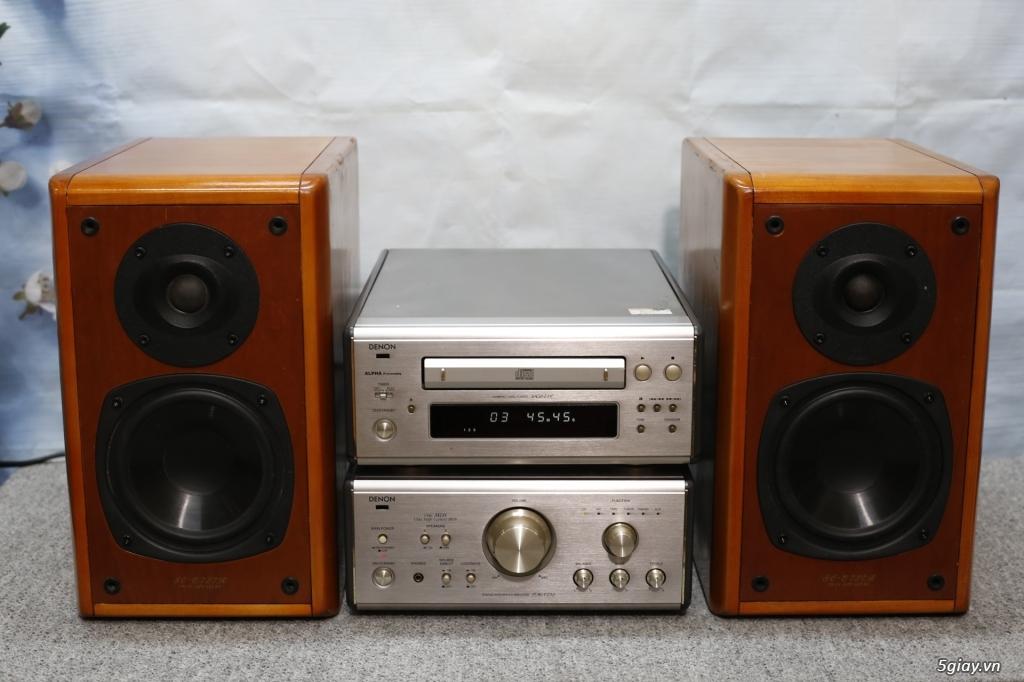 Đầu máy nghe nhạc MINI Nhật đủ các hiệu: Denon, Onkyo, Pioneer, Sony, Sansui, Kenwood - 4