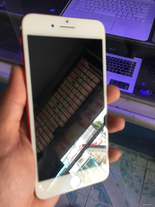 iPhone 7 Plus 32GB màu đỏ, bể màn, còn lên hình, còn cảm ứng - 2