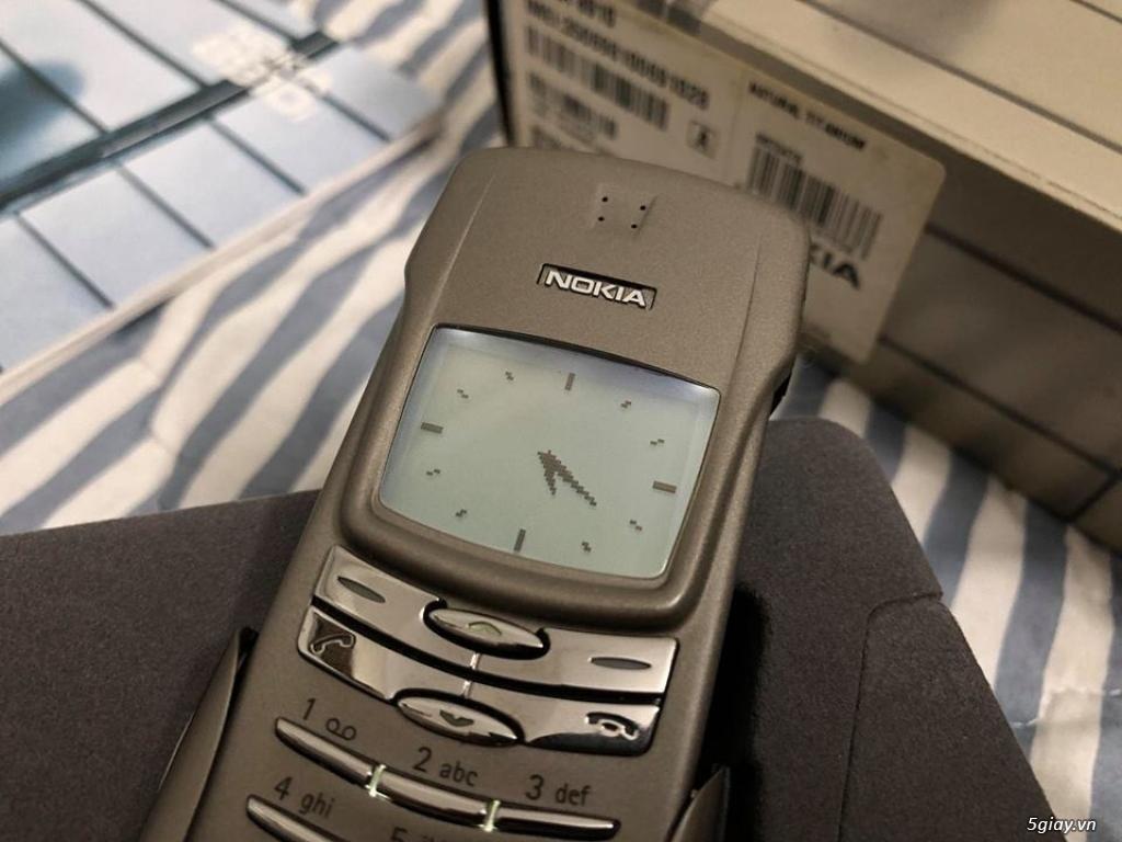 Nokia 8910 Titanium new cứng nguyên hộp thị trường Pháp Fabrique - 9