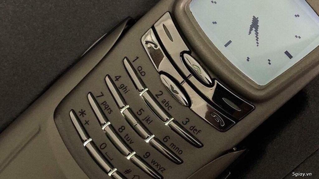Nokia 8910 Titanium new cứng nguyên hộp thị trường Pháp Fabrique - 2