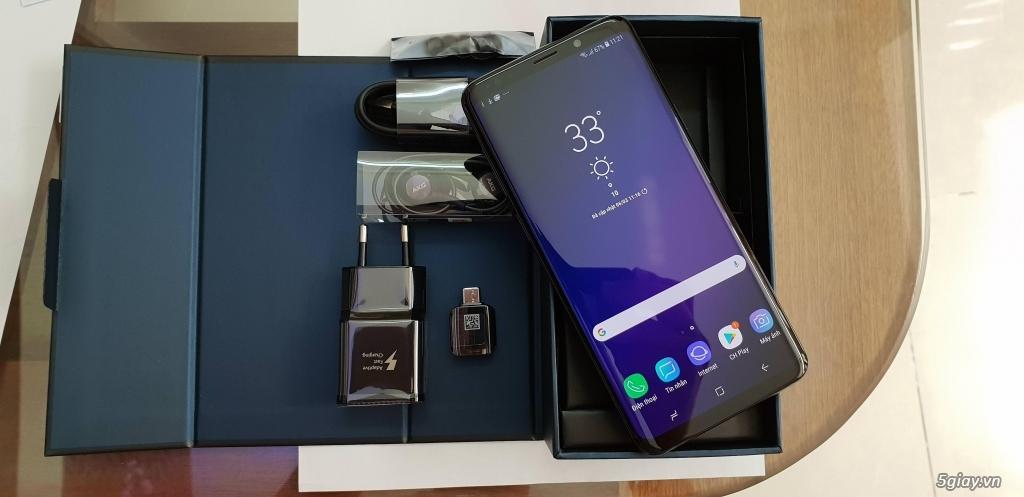 Samsung S9 Black chính hãng SSVN Fullbox 25.11.2019