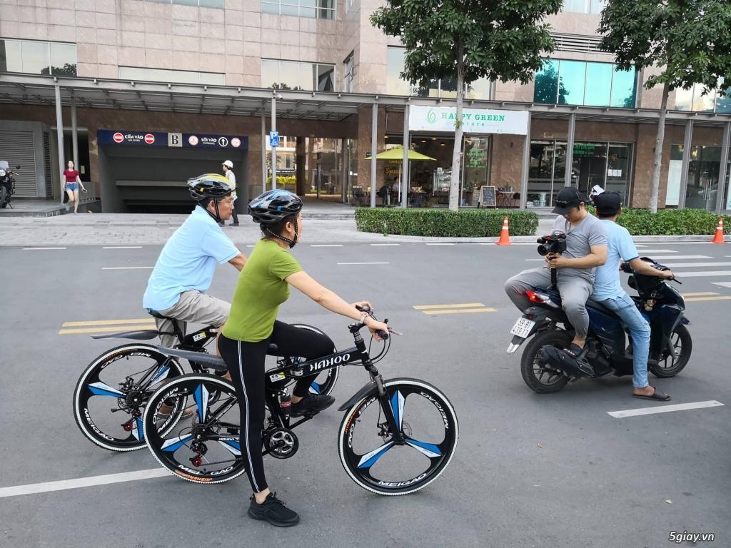 Xe đạp thể thao địa hình gấp gọn Hahoo - 6