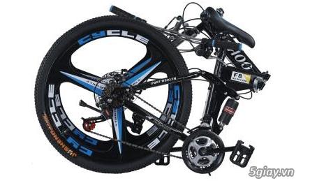 Xe đạp thể thao địa hình gấp gọn Hahoo - 5